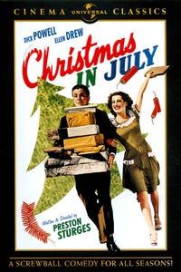 Christmas in July as Large Gentleman