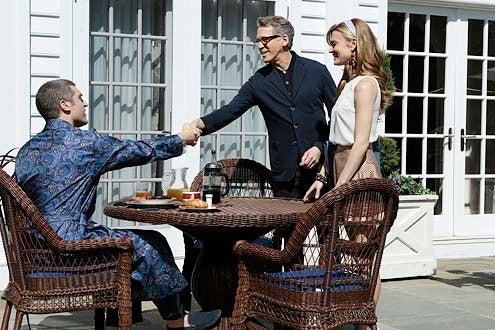 "Royal Pains - Season 6 - ""Goodwill Stunting"" - Jeremy Davidson, Stephen Spinella and Brooke D'Orsay"