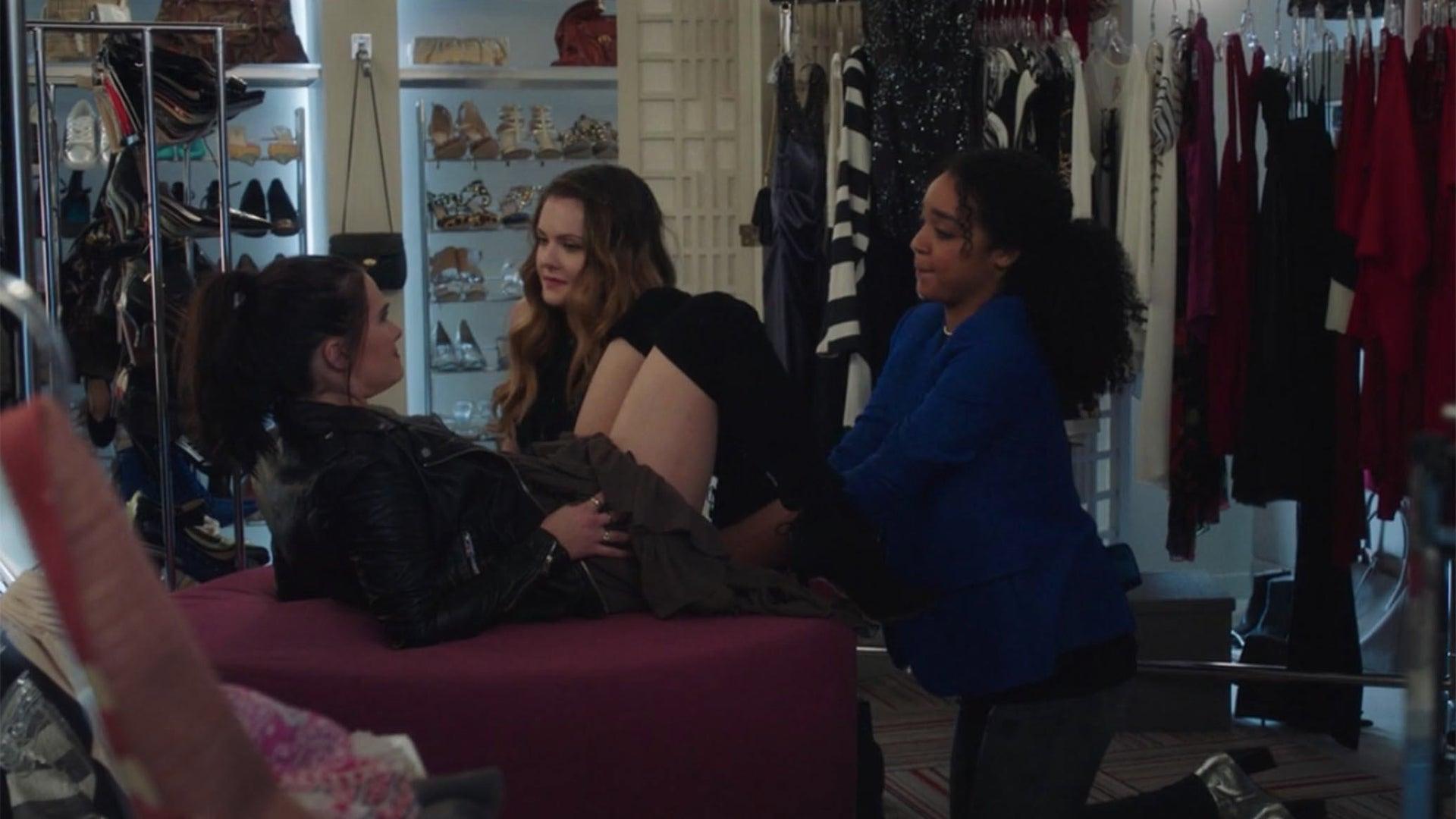 Aisha Dee, Meghann Fahy, and Katie Stevens, The Bold Type