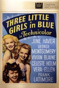 Three Little Girls in Blue as Miriam