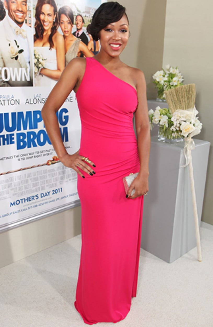 """Meagan Good - The """"Jumping The Broom"""" Los Angeles premiere, May 4, 2011"""