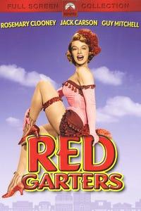 Red Garters as Calaveras Kate