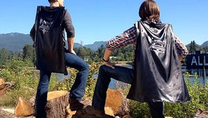 Supernatural's Jared Padalecki and Jensen Ackles Model Capes for Comic-Con