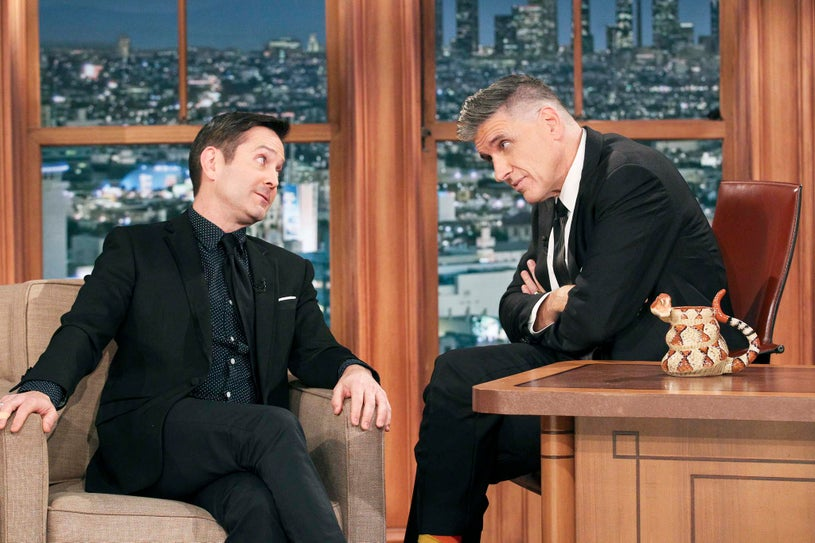 The Late Late Show with Craig Ferguson - Thomas Lennon and Craig Ferguson
