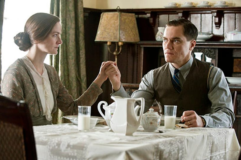 """Boardwalk Empire - Season 1 - """"Hold Me in Paradise"""" - Enid Graham and  Michael Shannon"""