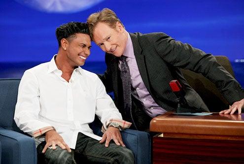 Conan - DJ Pauly D and Conan O'Brien