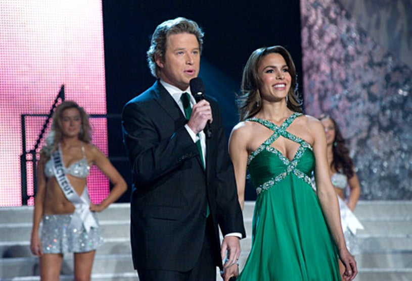 Miss USA Pageant - Billy Bush and Nadine Velazquez co-host the 58th Annual Miss USA Pageant live from Las Vegas, Nevada