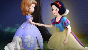 Exclusive Video: Snow White Visits Sofia the First