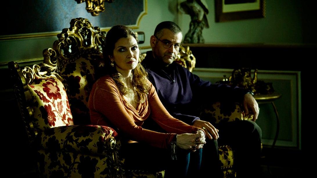 Maria Pia Calzone and Fortunato Cerlino, Gomorrah