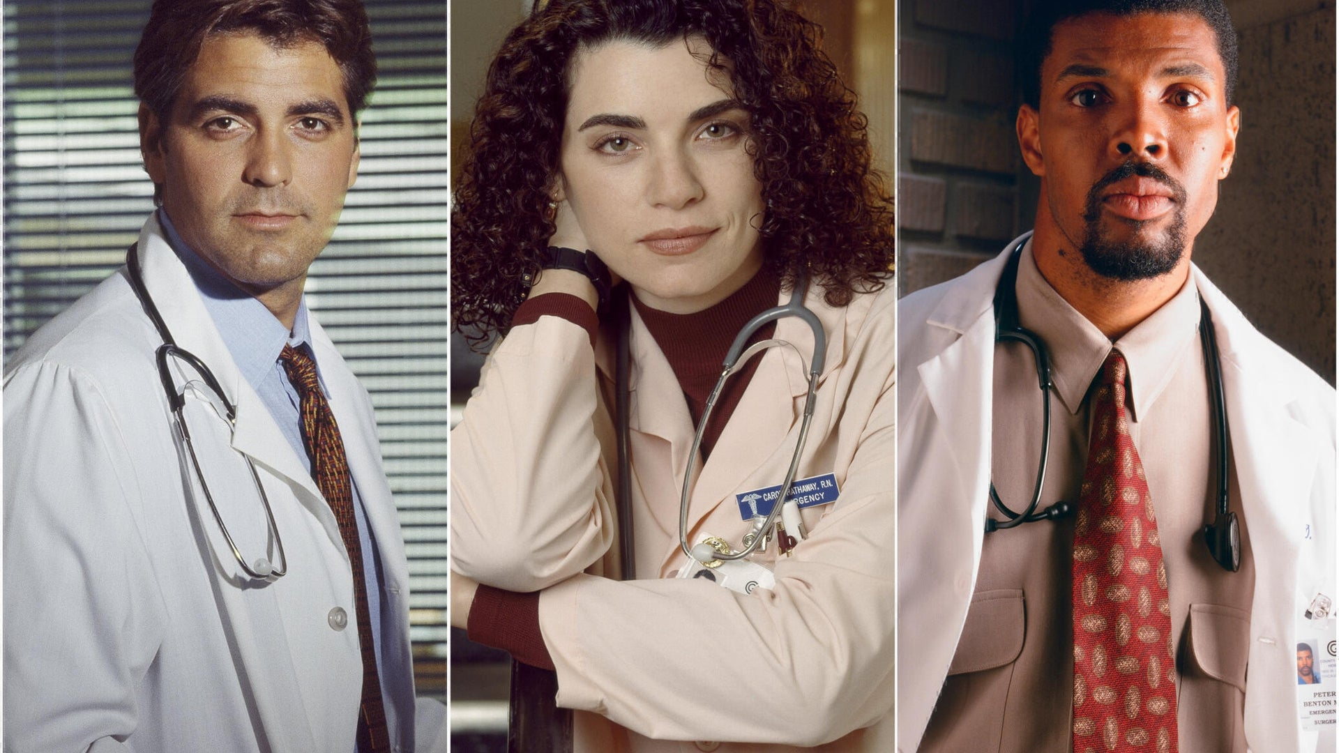 ER Cast Then and Now