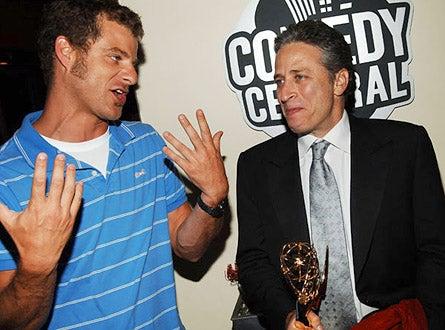 Jon Stewart and Matt Stone - The 57th Annual Emmy Awards, September 18, 2005