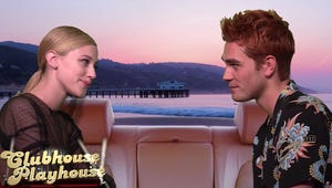 Lili Reinhart and KJ Apa Hilariously Recreate Brenda and Dylan's 90210 Breakup