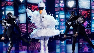 The Swan Takes a Dive on The Masked Singer