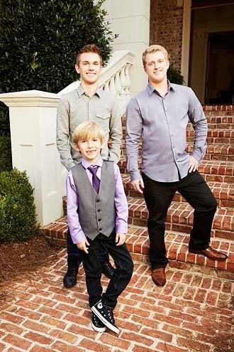 Chrisley Knows Best - Season 1 - Grayson Chrisley, Chase Chrisley and Kyle Chrisley