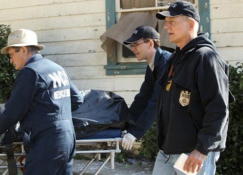 "NCIS - Season 10 - ""Revenge"" - David McCallum, Brian Dietzen and Mark Harmon"