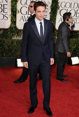 Robert Pattinson - The 68th Annual Golden Globe Awards, January 16, 2011