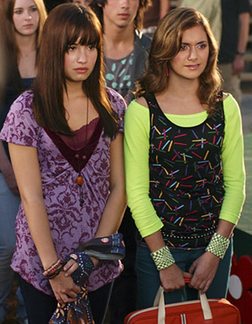 Camp Rock - Demi Lovato as Mitchie and Alyson Stoner as Caitlyn