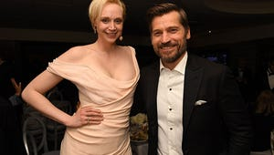Game of Thrones' Brienne and Jaime Reunited at the Golden Globes