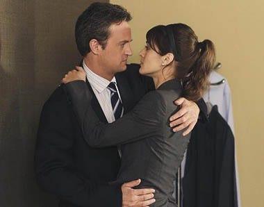 "Mr. Sunshine - Season 1 - ""Ben and Vivian"" - Matthew Perry, Lizzy Caplan"