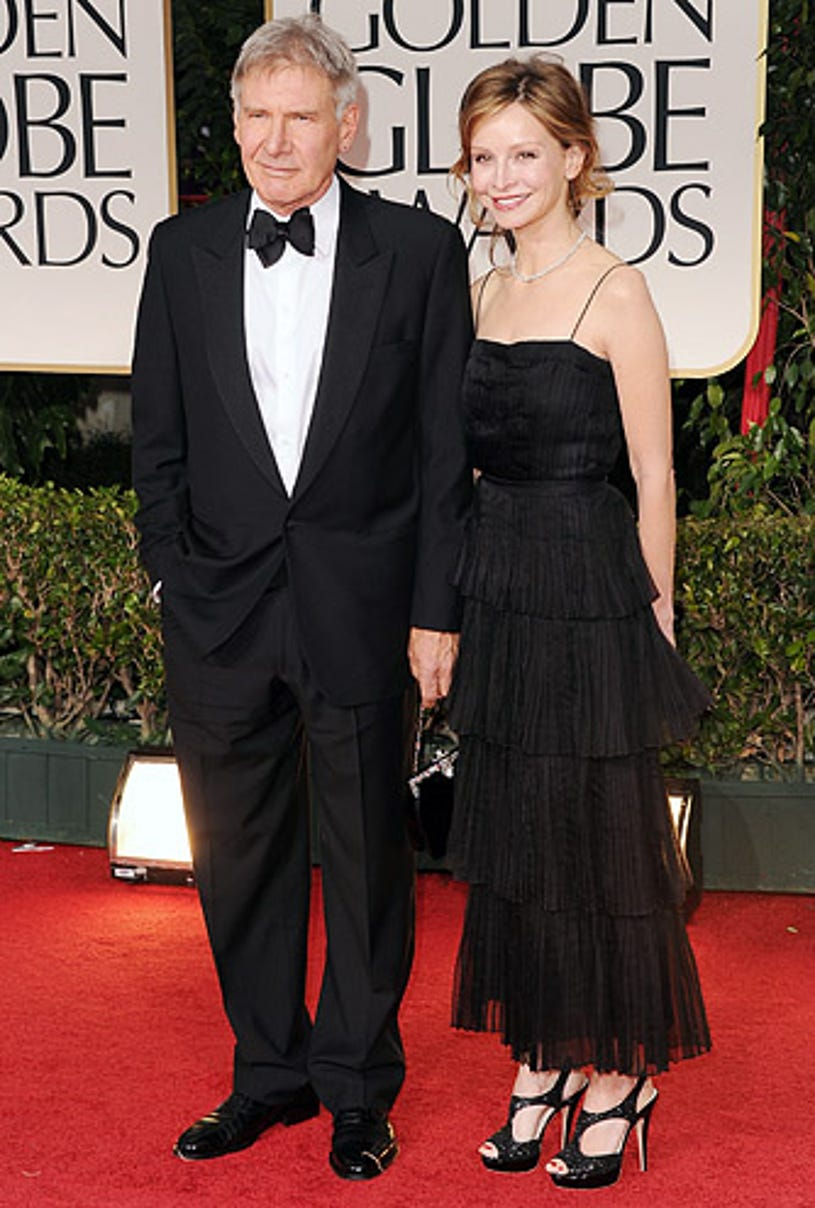Harrison Ford and Calista Flockhart - The 69th Annual Golden Globe Awards, January 15, 2012