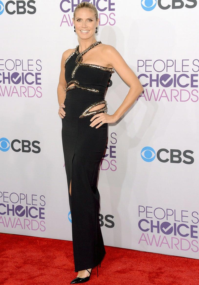 Heidi Klum - 39th Annual People's Choice Awards in Los Angeles, California, January, 9, 2013
