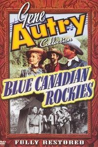 Blue Canadian Rockies