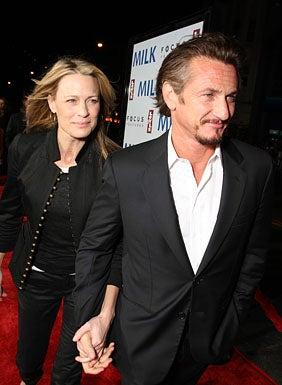 "Robin Wright Penn and Sean Penn - The ""Milk"" world premiere in San Francisco, October 28, 2008"