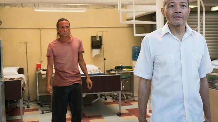 Frank Dillane and Paul Calderon, Fear the Walking Dead