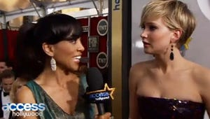VIDEO: Jennifer Lawrence Flips Out After Getting Spoiled on Homeland at the SAG Awards