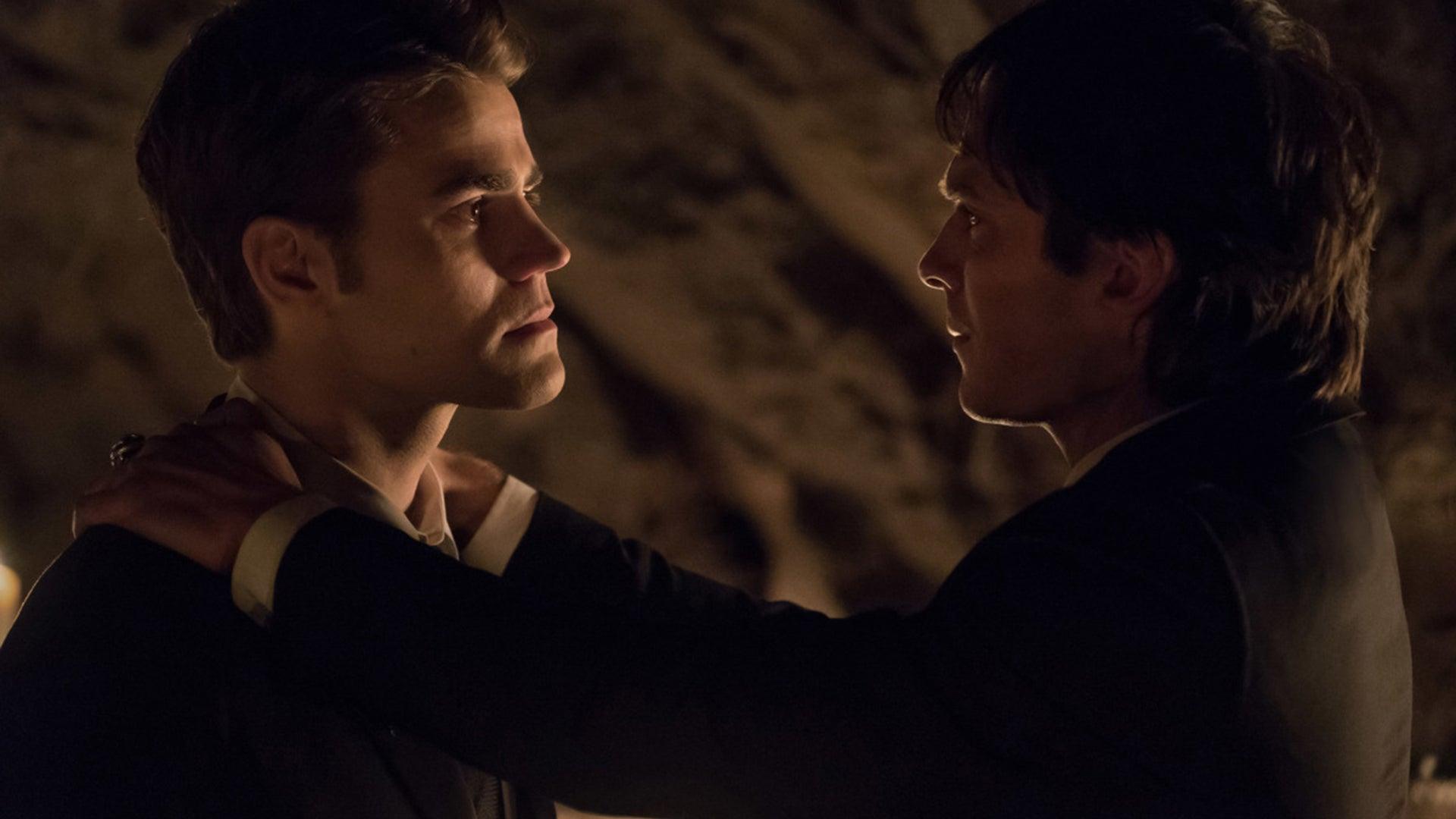 Paul Wesley and Ian Somerhalder, The Vampire Diaries