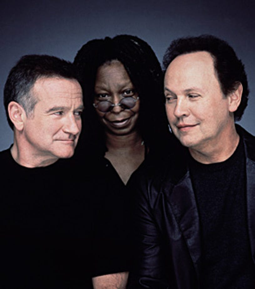 Comic Relief 2006 - Robin Williams, Whoopi Goldberg and Billy Crystal, November 18, 2006