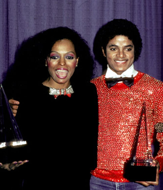 Diana Ross and Michael Jackson  - 1981 American Music Awards, January 30, 1981