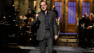 Stranger Things Star David Harbour Brought the Upside Down to Saturday Night Live