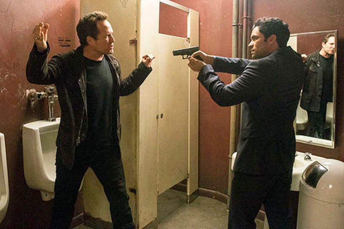 "Law & Order- Special Victims Unit - Season 14 - ""Lost Reputation"" - Dean Winters and Danny Pino"