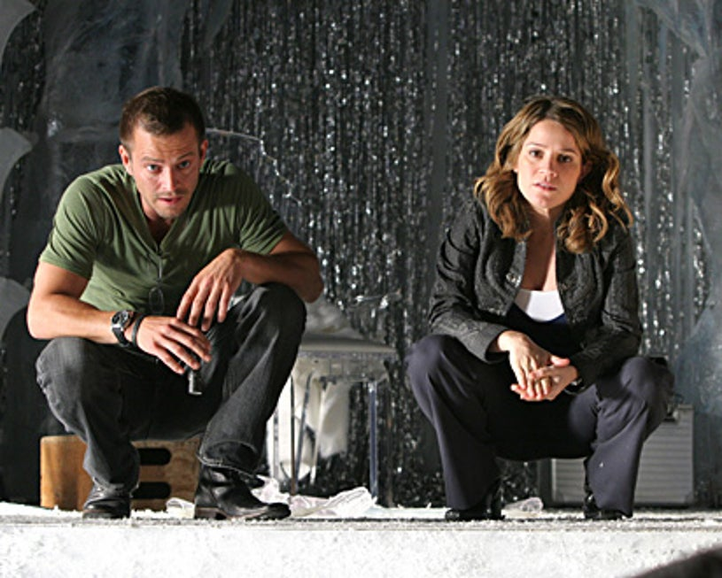 "CSI: NY - ""Love Run Cold"" - Carmine Giovinazzo as Danny and Anna Belknap as Lindsay"