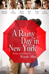 A Rainy Day In New York as Gala Party Guest
