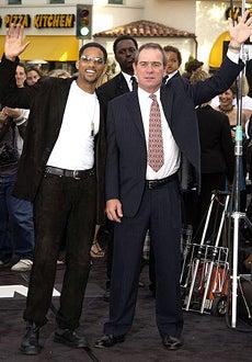 """Will Smith & Tommy Lee Jones - """"Men in Black II"""" Premiere, June 26, 2002"""
