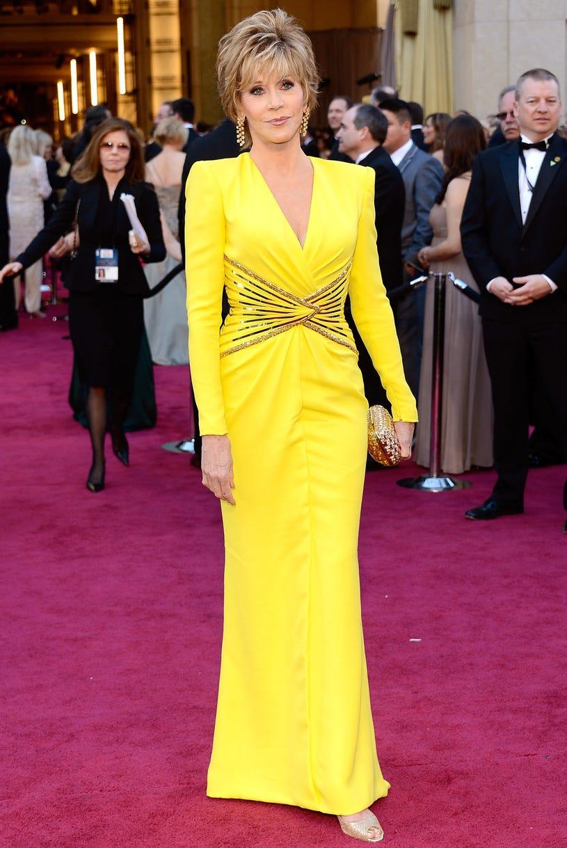 Jane Fonda - 85th Annual Academy Awards in Hollywood, California, February 24, 2013