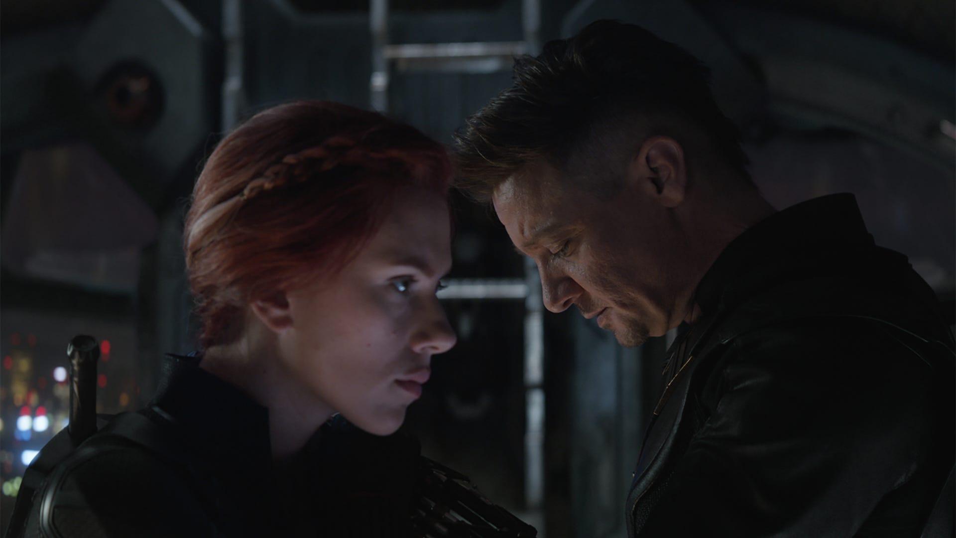 Scarlett Johansson and Jeremy Renner, Avengers: Endgame