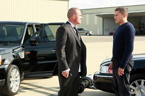 "Prison Break - Season 4 - ""Vs."" - Dominic Purcell and Wentworth Miller"