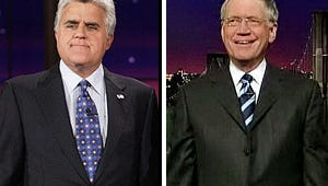 Leno Brings Letterman's Wife Into Late-Night Feud