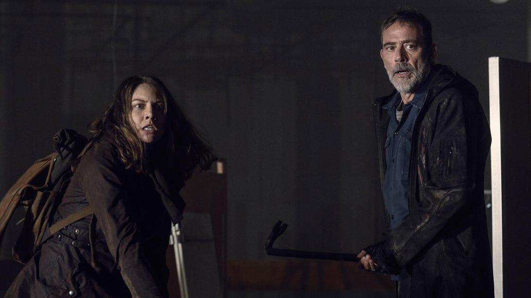 Lauren Cohan and Jeffrey Dean Morgan, The Walking Dead