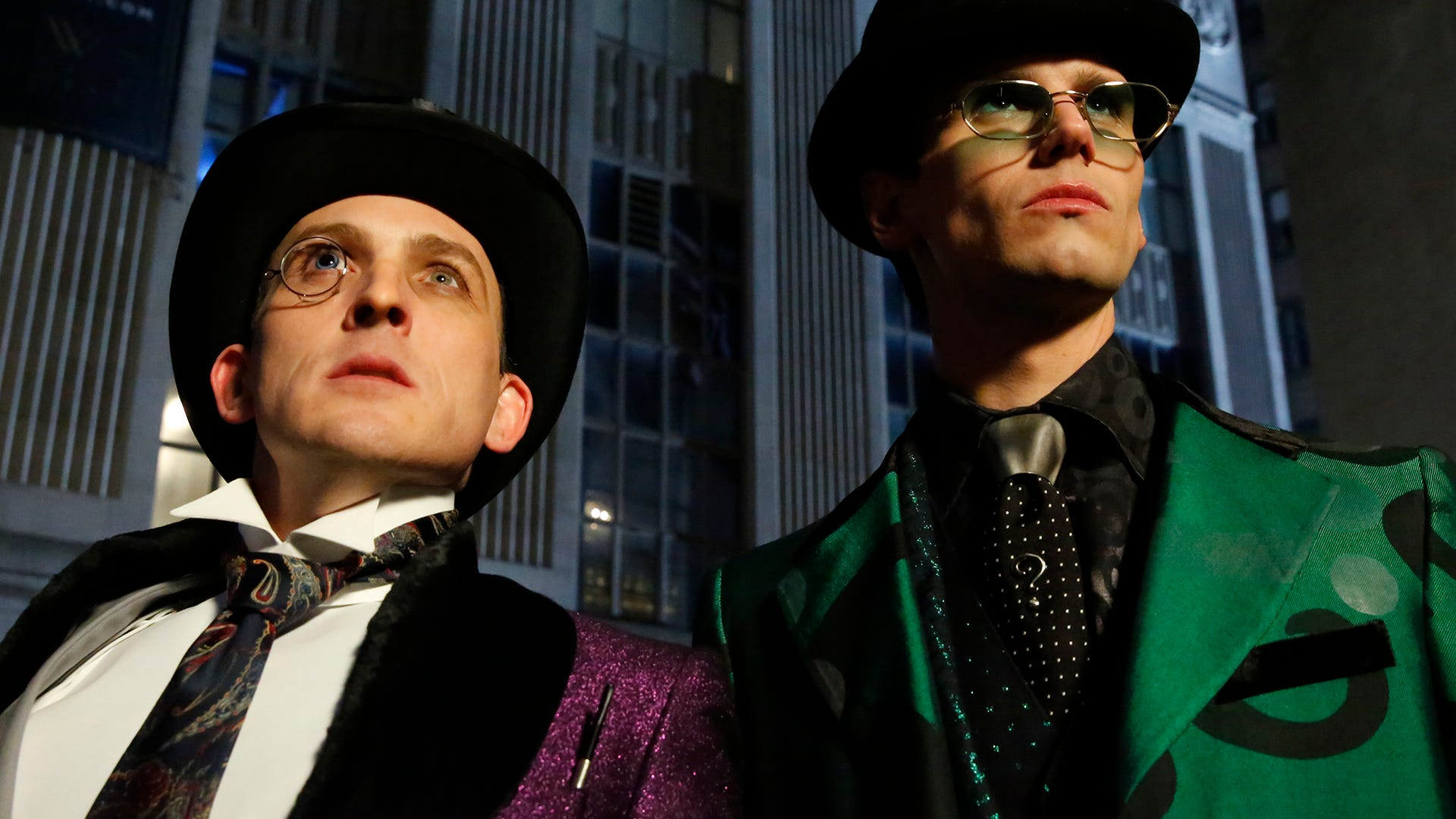 Robin Lord Taylor and Cory Michael Smith, Gotham