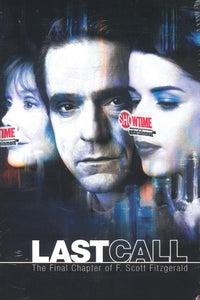 Last Call as F. Scott Fitzgerald