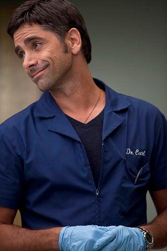 """Glee - Season 2 - """"Britney/Brittany"""" - Guest star John Stamos as Dr. Carl"""
