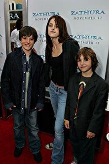 Josh Hutcherson, Kristen Stewart and Jonah Bobo -  'Zathura: A Space Adventure' Los Angeles premire, November 6, 2005