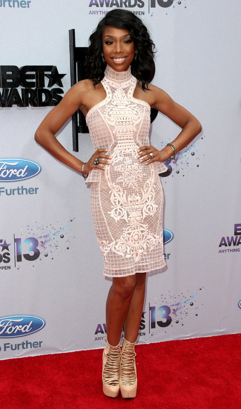 Brandy Norwood - 2103 BET Awards in Los Angeles, California, June 30, 2013