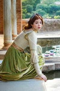 Charlotte Hope as Lucy Preville