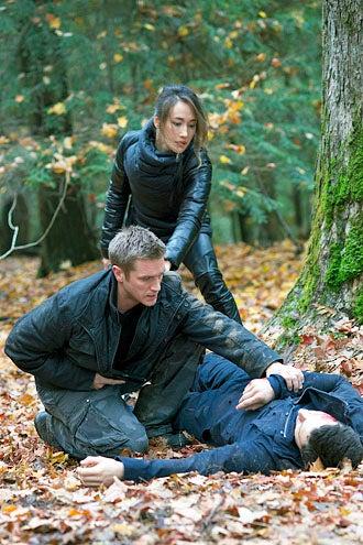 "Nikita - Season 3 - ""Survival Instincts"" - Devon Sawa and Maggie Q"
