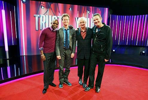 Trust Us with Your Life - Season 1 - Wayne Brady, Jonathan Mangum, Colin Mochrie and Brad Sherwood